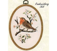 Robin Embroidery Kit - E191