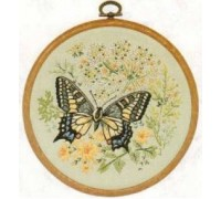 Swallowtail Butterfly Embroidery - E155