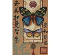 Asian Butterflies Tapestry - D20065
