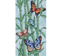 Butterflies and Bamboo - 35120 - 14ct