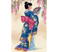 Elegant Geisha - 6953 - 18ct