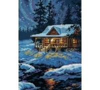 Moonlit Cabin - 65007 - 18ct