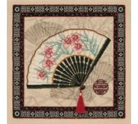 Oriental Fan - 35170 - 18ct