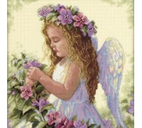 Passion Flower Angel - D35229