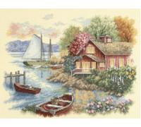 Peaceful Lake House - D35230