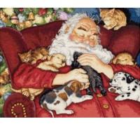 Santa's Nap - D70-08836