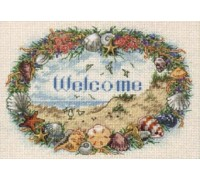 Shell Welcome Wreath - 6756 - 18ct