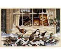 Three Bird Watchers - 3839 - 18ct