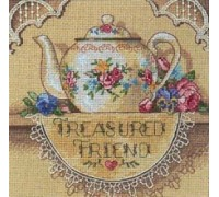 Treasured Friend Teapot - 6904 - 18ct