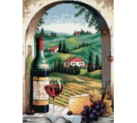 Tuscan View Tapestry - D20054
