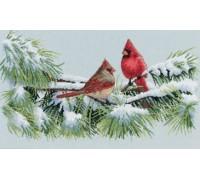 Winter Cardinals - 35178 - 16ct