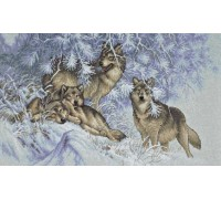 Wintertime Wolves - 35227