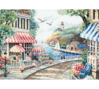 Cafe by the Sea - 35157 - 14ct
