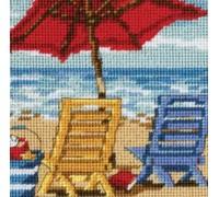 Beach Chair Duo Mini Tapestry - D07223