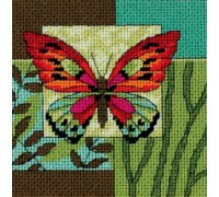 Butterfly Impression Mini Tapestry - D07222