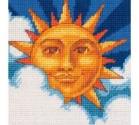Celestial Sun Mini Tapestry - D07218