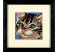 Cross-Eyed Kitty Mini Tapestry - D07206