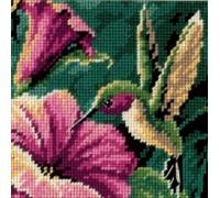 Hummingbird Drama Mini Tapestry - D07210