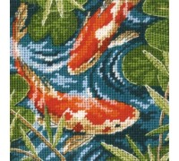 Koi Pond Mini Tapestry - D07214