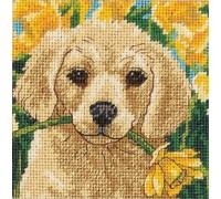 Puppy Mischief Mini Tapestry - D07231