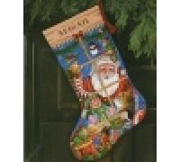 Santa's Toys Christmas Stocking - D08818