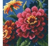 Zinnias Mini Tapestry - D07213