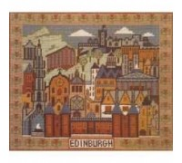 A Pattern of Edinburgh Tapestry - Charted Kit