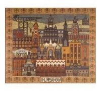 A Pattern of Glasgow Tapestry - Charted Kit