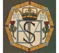 Mary Queen of Scots Monogram Tapestry - Charted Kit