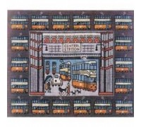 Tramscape Tapestry - Charted Kit