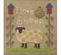 I Love Sheep Chart - 08-1266