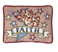 Faith Tattoo Tapestry - Large
