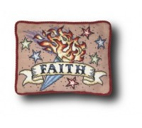 Faith Tattoo Tapestry - Small