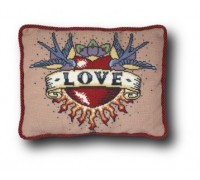 Love Tattoo Tapestry - Small