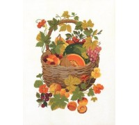 Basket of Fruits - 08-4177C - 26ct