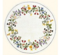 Bindweed Wreath Tablecloth