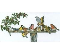 Bird Table Gathering - 14-076C - 26ct