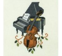 Cello and Piano - 14-084H - 14ct