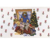 Christmas Eve Advent Calendar - 15-205H - 14ct