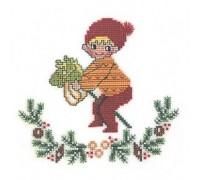 Christmas Hobbyhorse - 25-133C - 26ct