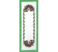 Christmas Pixies Table Runner - 23-269C - 26ct