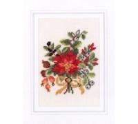 Christmas Posy Card Kit - 45-386C - 26ct