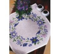 Clematis Ring Tablecloth
