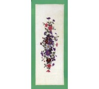 Clematis Table Runner - 23-284F - 25ct