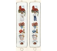 Confirmation Sampler Bell Pull - 13-353B - 30ct