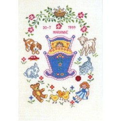 Birth and Wedding Cross Stitch