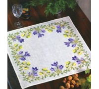Crocus Tablecloth - 05-3344B - 30ct