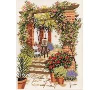 Floral Pergola - 14-220C - 26ct