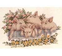 Four Little Pigs - 14-105