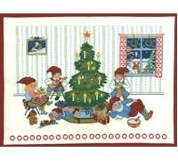 Fun Around the Tree Christmas Advent Calendar - 15-253C - 26ct